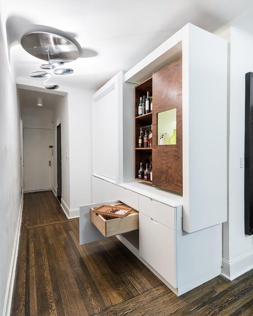 Solución elegante eficiencia NYC Shoebox Apartamento Estudio ()