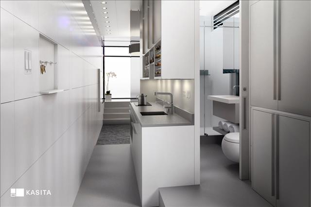 Interior Kithen Bath Laundry