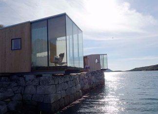 Sea Cabins, Manshausen Island, Norway 3