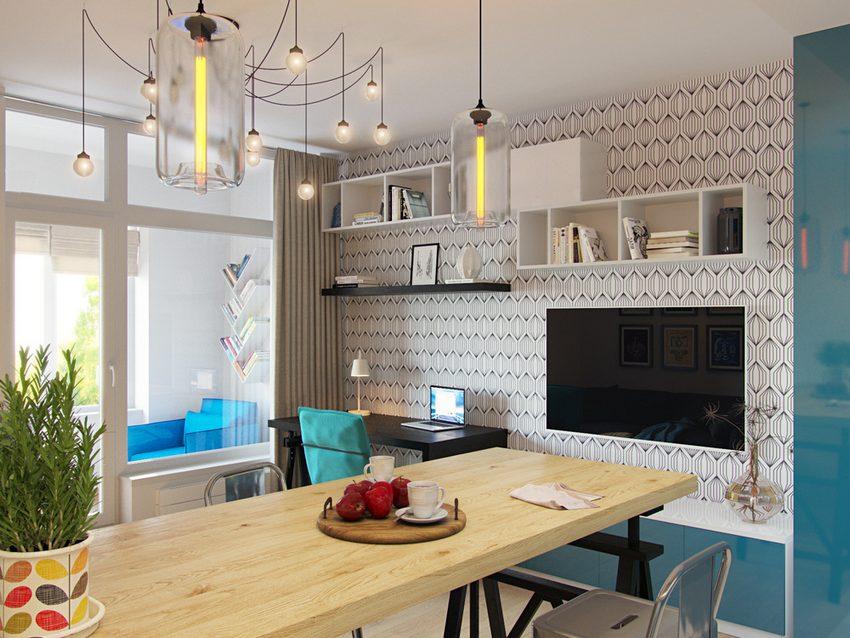 Modren Studio Apartment Solutions Ways To Divide A Into Throughout Decor