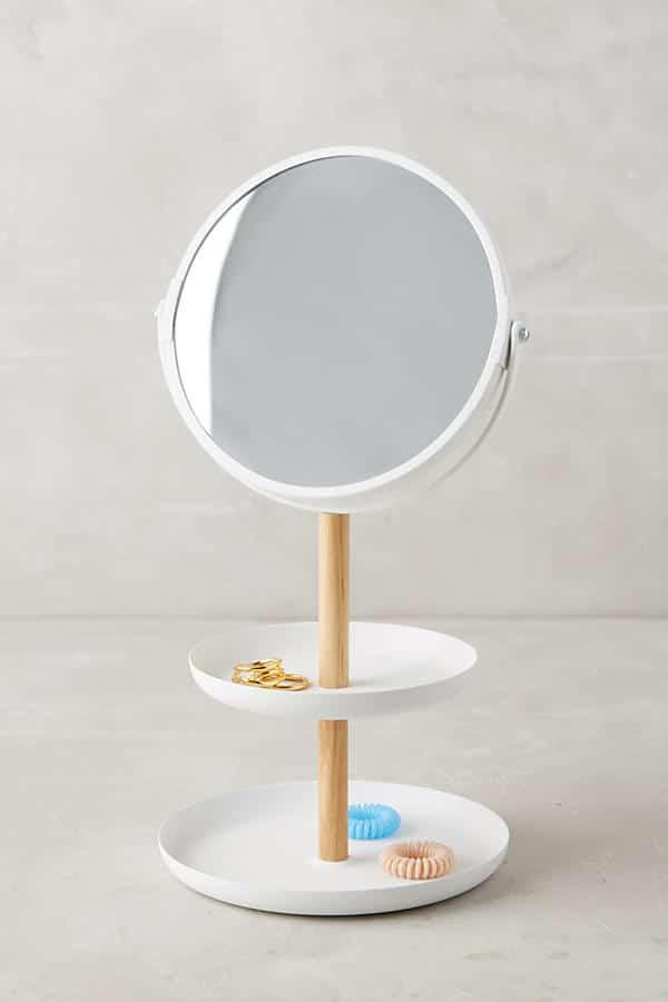Tiered Vanity Mirror