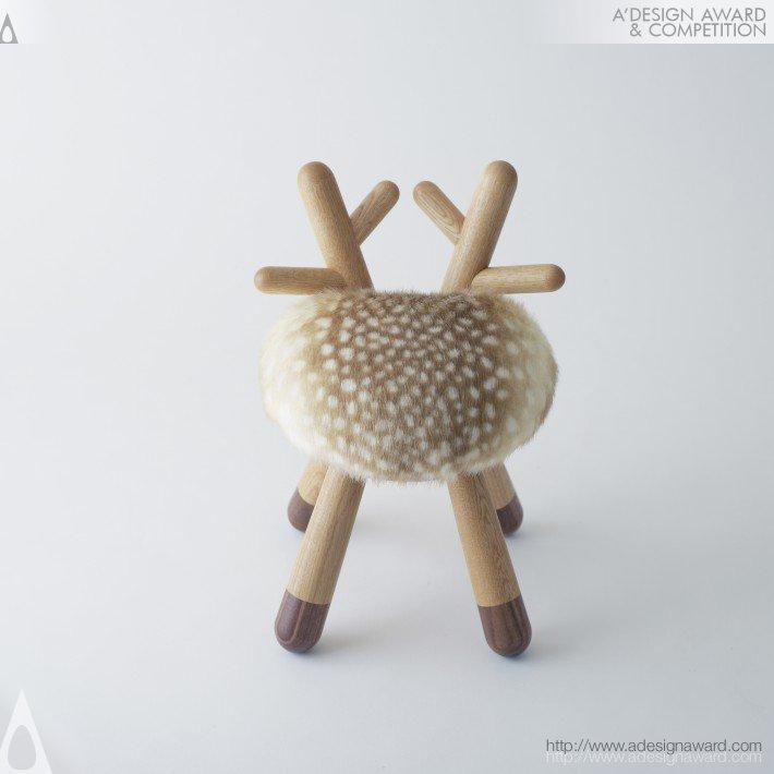 Bambi chair by Takeshi Sawada