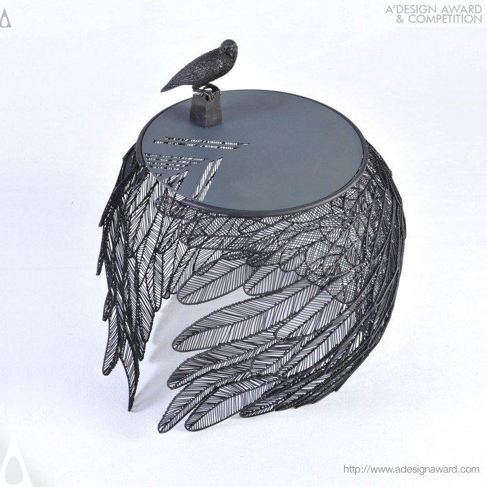 Feather by Apiwat Chitapanya