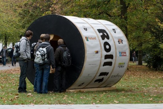 Rol7 1 - Roll it - an interesting housing concept