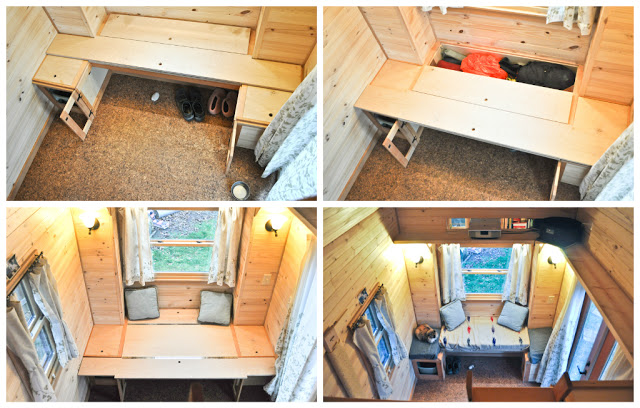 Row21 1 - Tammy is living in a 12 m2 (128 ft2) tiny house with her husband and two cats