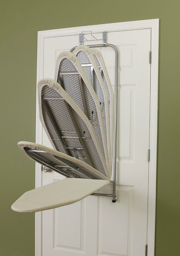 over-door-ironing-board & 20 great space-saving ideas for doors - Living in a shoebox Pezcame.Com