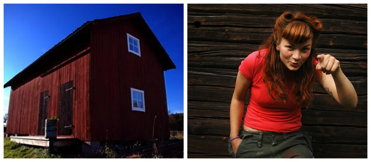 Sara May House 1 - Visit Sara May's eco home