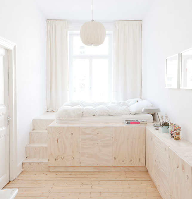 Great space-saving solutions for bedroom and kids room ...