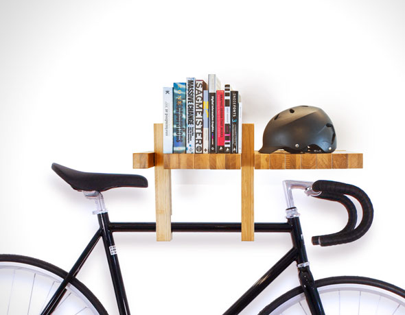 ikea bed mattress this book shelf also functions as bike rack hooks and 11827