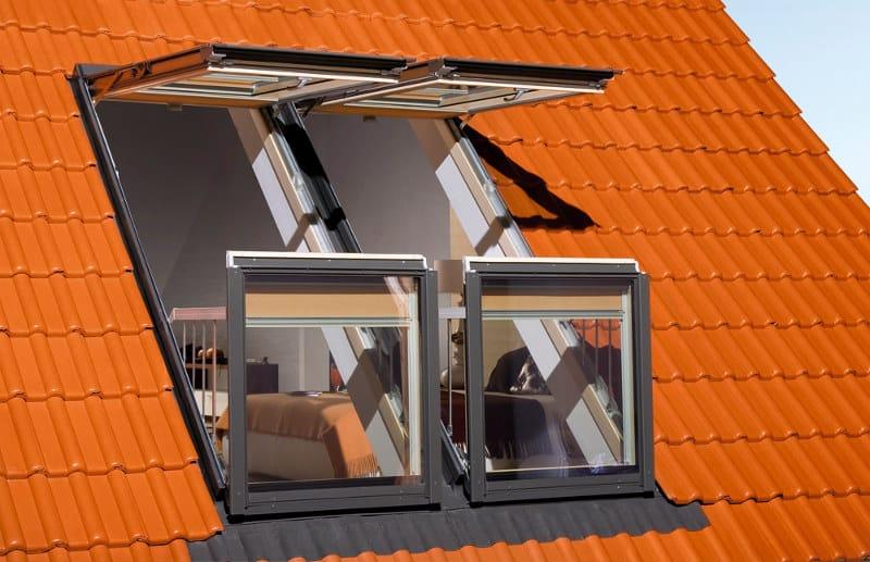 window converts into balcony 4 - Skylight window converts into balcony