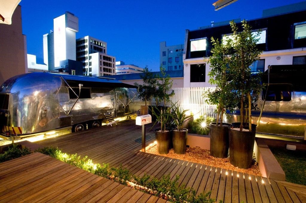 Image result for The Airstream Rooftop Trailer Park Cape town