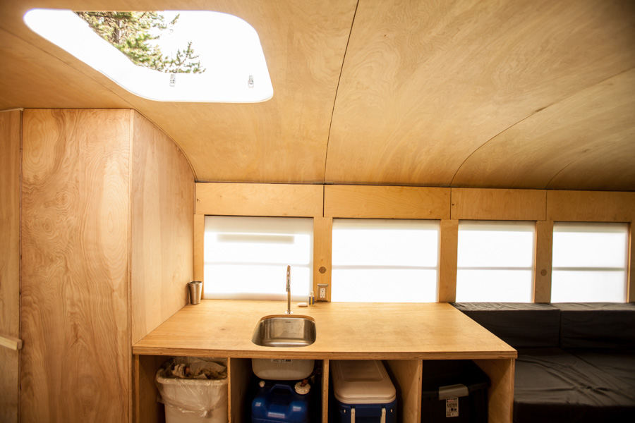 Converted bus 6 - Architecture student converts school bus into mobile home