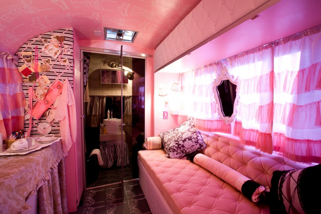 A Fairy Tale Like Airstream Trailer Park On Top Of The