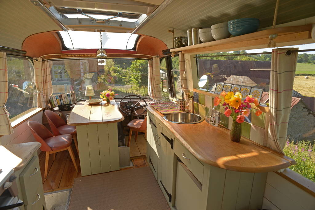 Majestic Bus Converted To Adorable Living Space Living