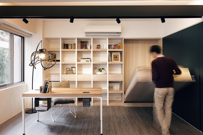 Small but airy Taiwan apartment Living in a shoebox
