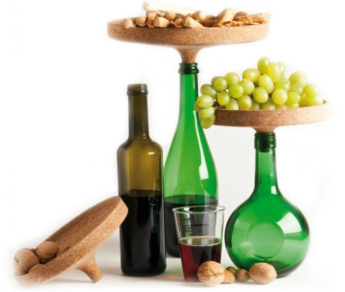 20 Eye Catching Under Stairs Wine Storage Ideas: Repurpose Empty Wine Bottles With The Appo Cork Tray