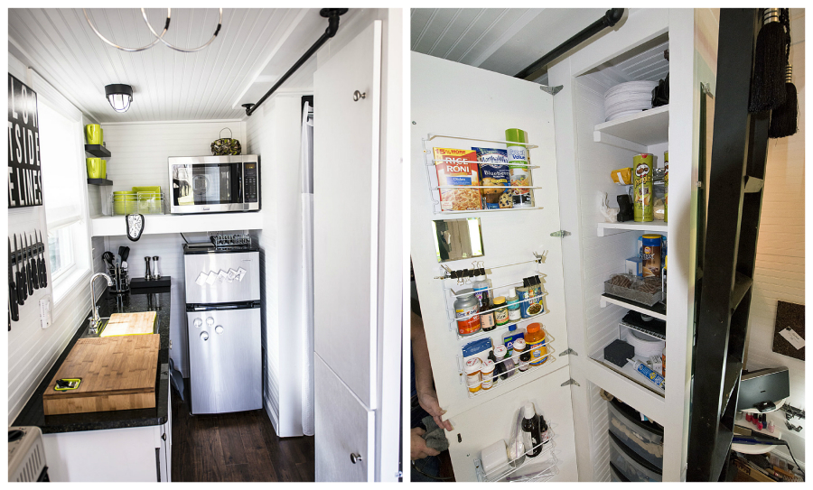 tiny kitchen designs.  tennessee tiny house 1 12 great small kitchen designs Living in a shoebox