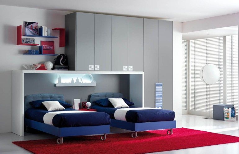 Space Beds new collection of space-saving beds from tumidei - living in a shoebox