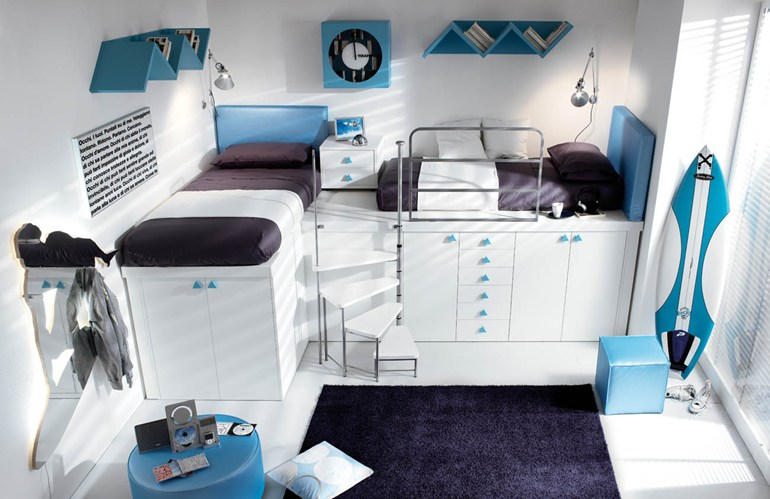 Space Saving Loft Bed new collection of space-saving beds from tumidei - living in a shoebox