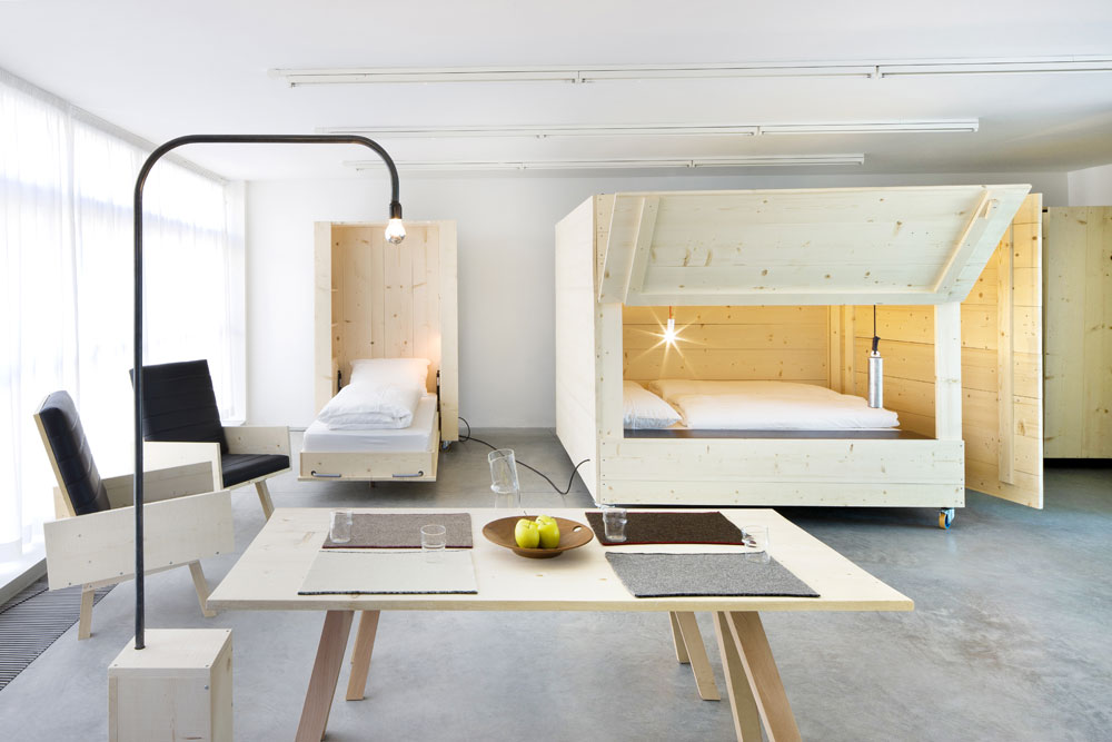 Atelier house 1 the new interior design