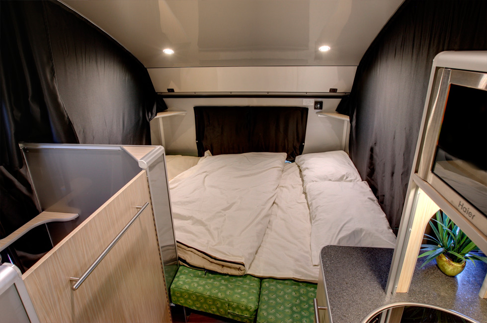 how to set up a travel trailer