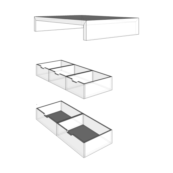 curly studio modular furniture 7 - This apartment is all about storage