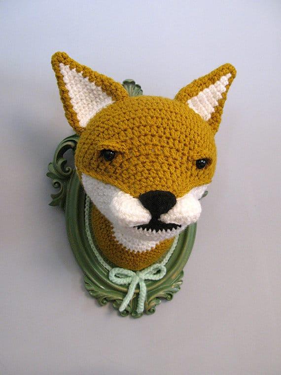 Faux Animal Head 11