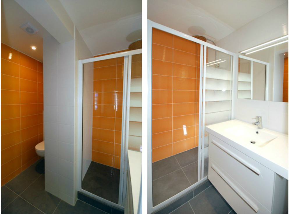 Bathroom Renovated By The French Architect Firm Studio Du0027archi
