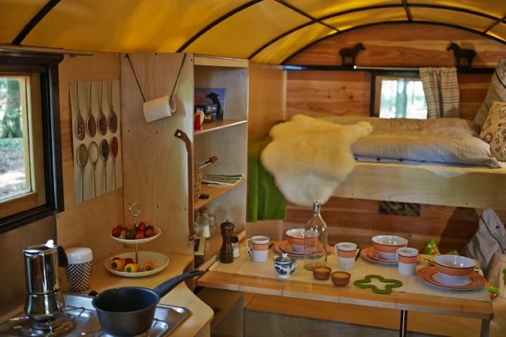 140613 HeideCaravan 0236 - Travel the German moorland in a horse drawn caravan