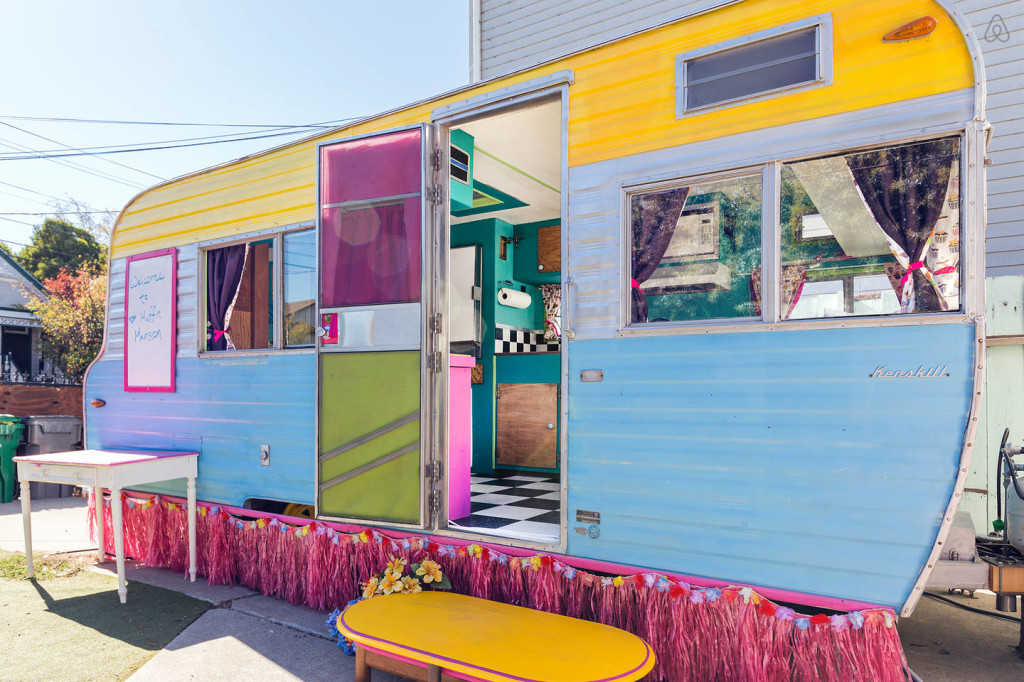 This Restored Vintage Caravan Went From Cupcake Truck To