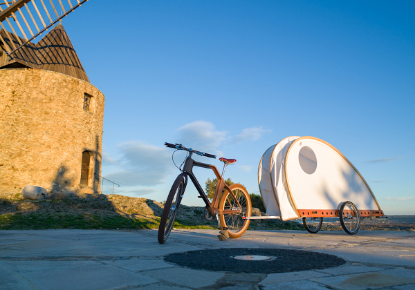 Build Your Own Bicycle Caravan Living In A Shoebox