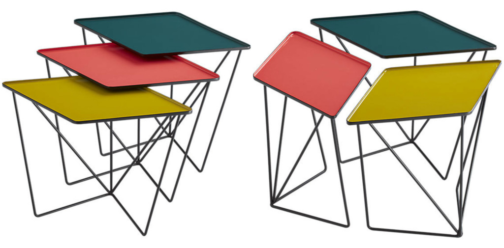 Twelve Fabulous Nesting Tables That Work Great In Cramped