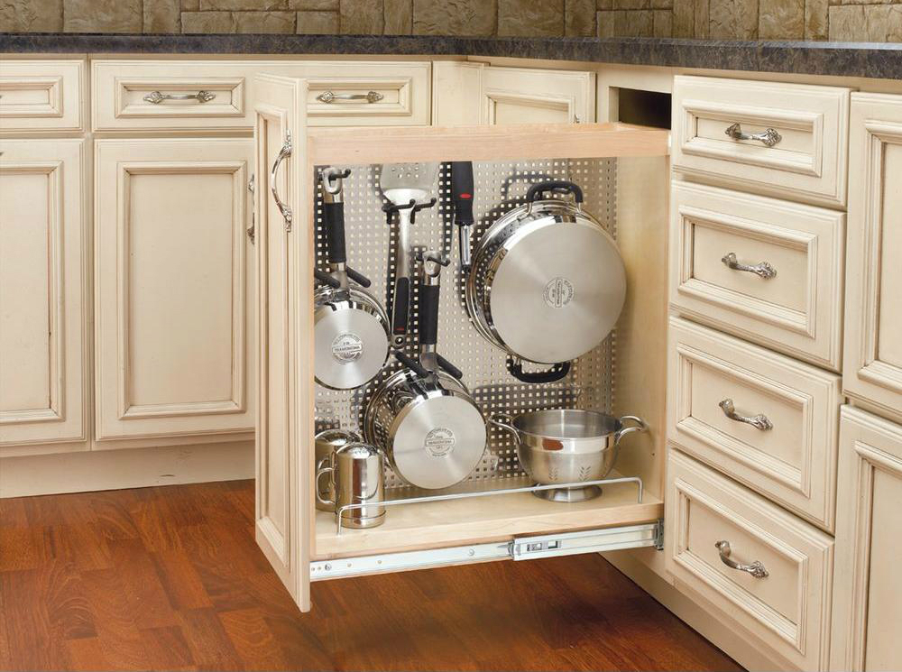 Maximize your cabinet space with these 16 storage ideas Kitchen under cabinet storage ideas