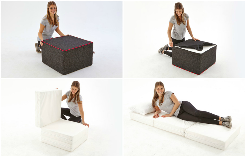 Double Footstool Bed