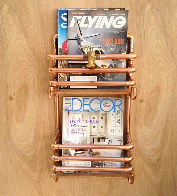 Make the most of your walls with these 17 trendy storage for Trendy magazine rack