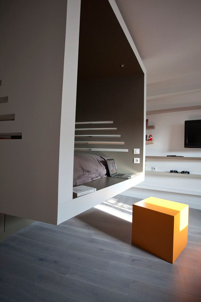 paris cyril rheims tiny apartment 9 - This 302-square-foot apartment feels much bigger than it actually is