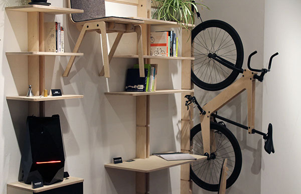 Hang Your Desk Chairs And Bicycle On The Wall With This