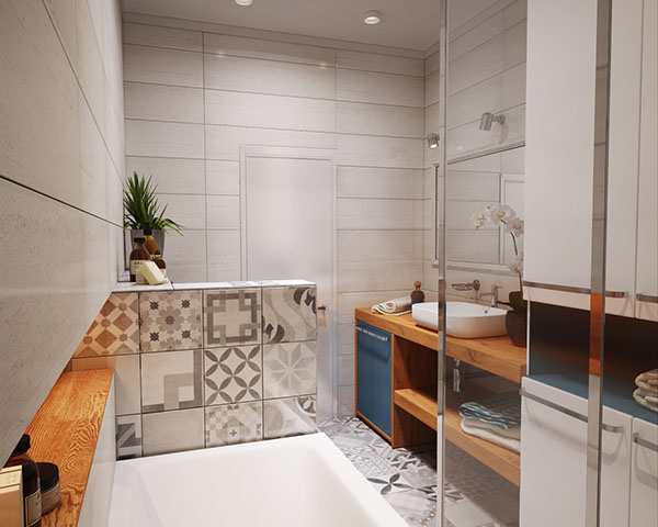 verbi apartment 10 - 430-square-foot apartment in Ukraine does not compromise on function or style
