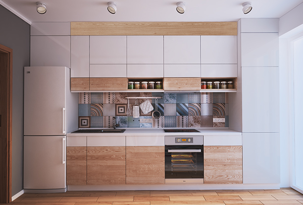 verbi apartment 5 - 430-square-foot apartment in Ukraine does not compromise on function or style