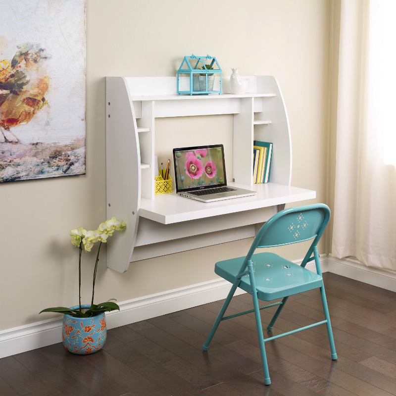 small desk for home office. Floating-desk-with-storage Small Desk For Home Office R