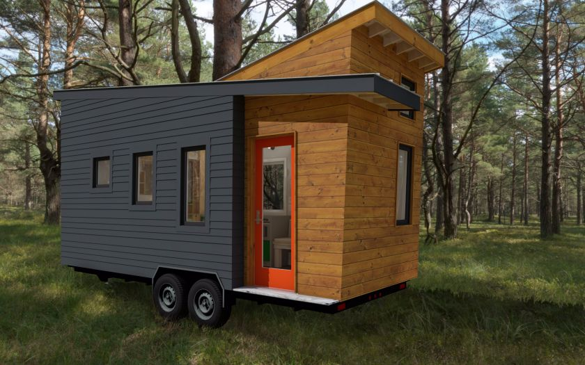 Tiny House Plans Released For The Model STEMNLEAF That Offers A New Modern Exterior Home Plans