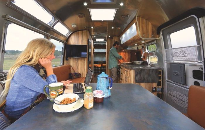 Airstream Launches Limited Edition Travel Trailer Living