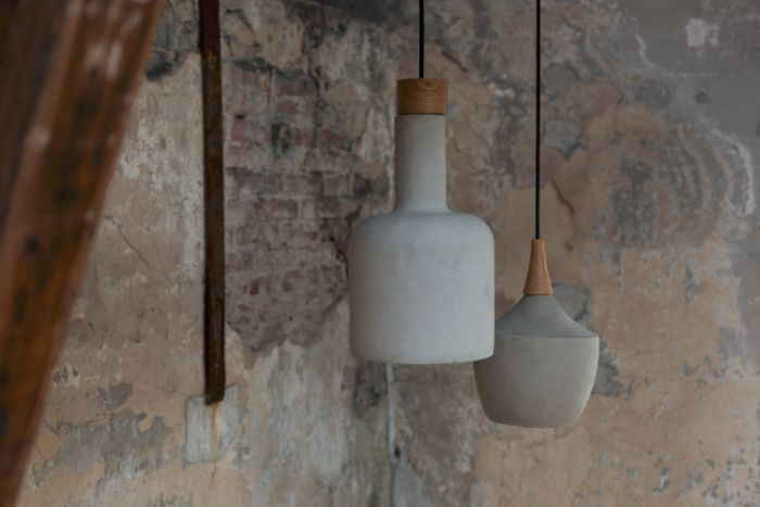 Concrete Pendant Lamps Cuckooland GBP95 - Cuckooland launches new range of global-inspired interiors