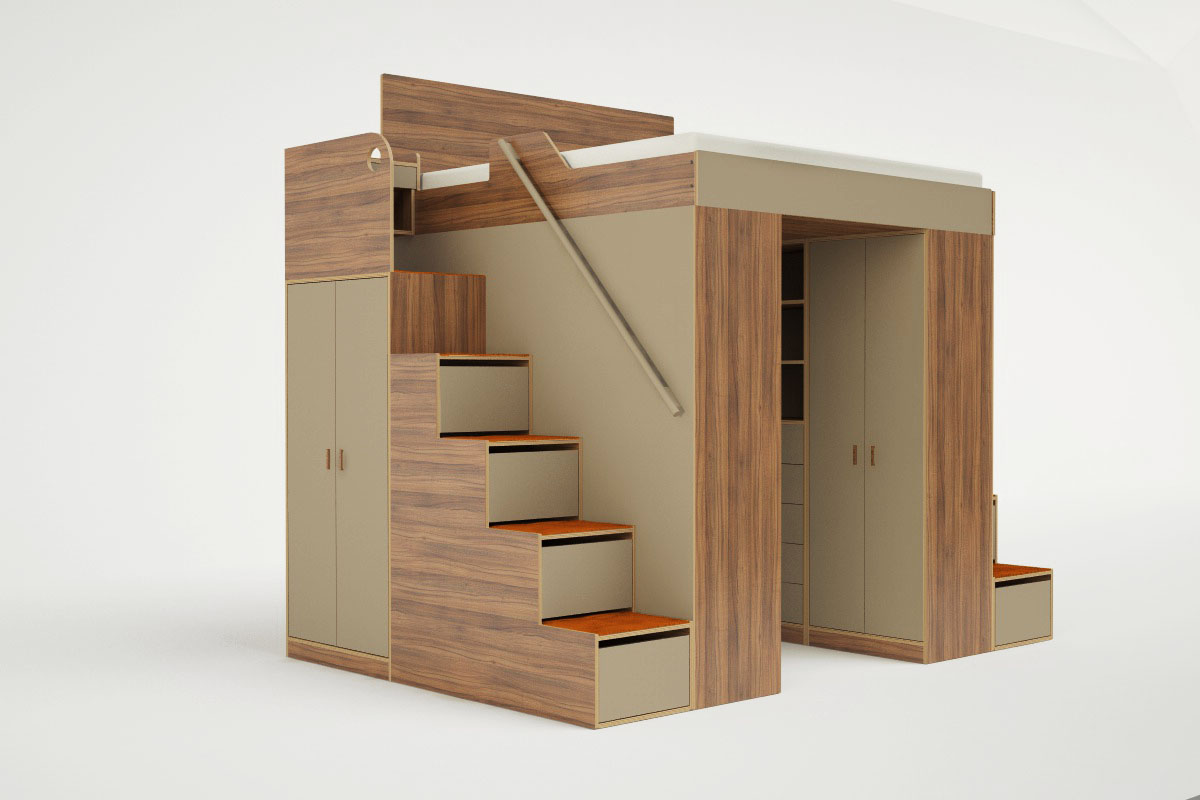 New loft bed collection for adults from Casa Collection ...