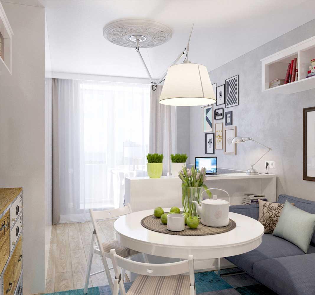Mini Apartment: This Tiny Studio Apartment Doesn't Skimp On Style