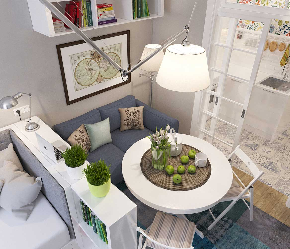 studio apartment living. tiny russian apartment 3 This studio doesn t skimp on style  Living in a