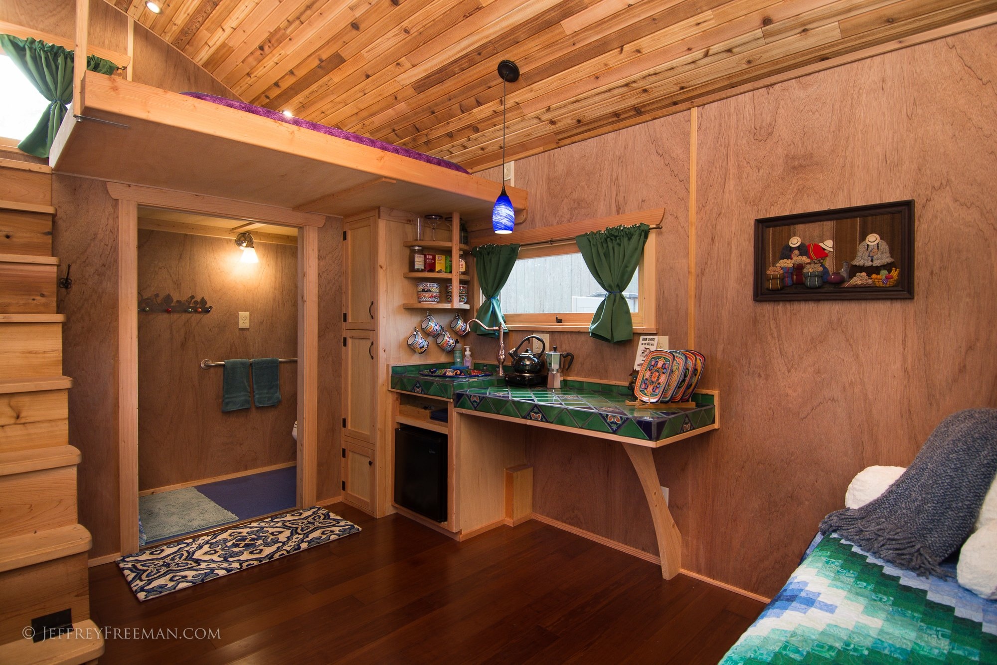 The hotel caravan welcomes new wheelchair accessible tiny Home ideas for small houses