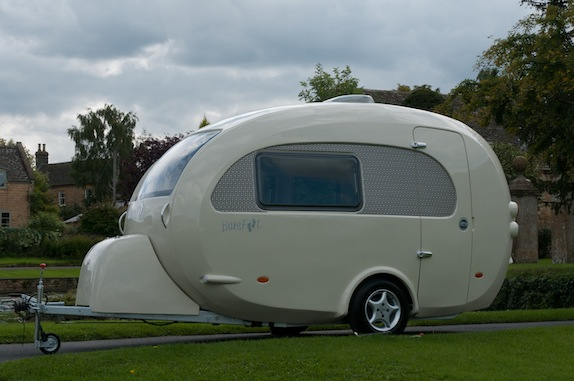 Used barefoot caravan for sale Subaru Barefootcaravan143 Living In Shoebox The Barefoot Caravan Is Stylish Luxury In Neat Little Package