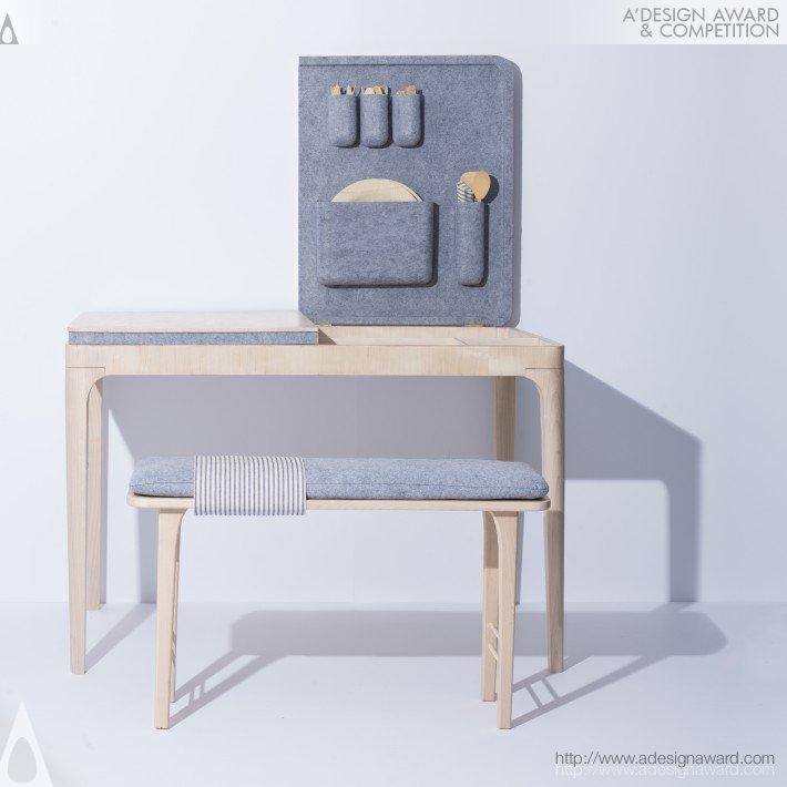 Lilla Table by Jessica Herrera