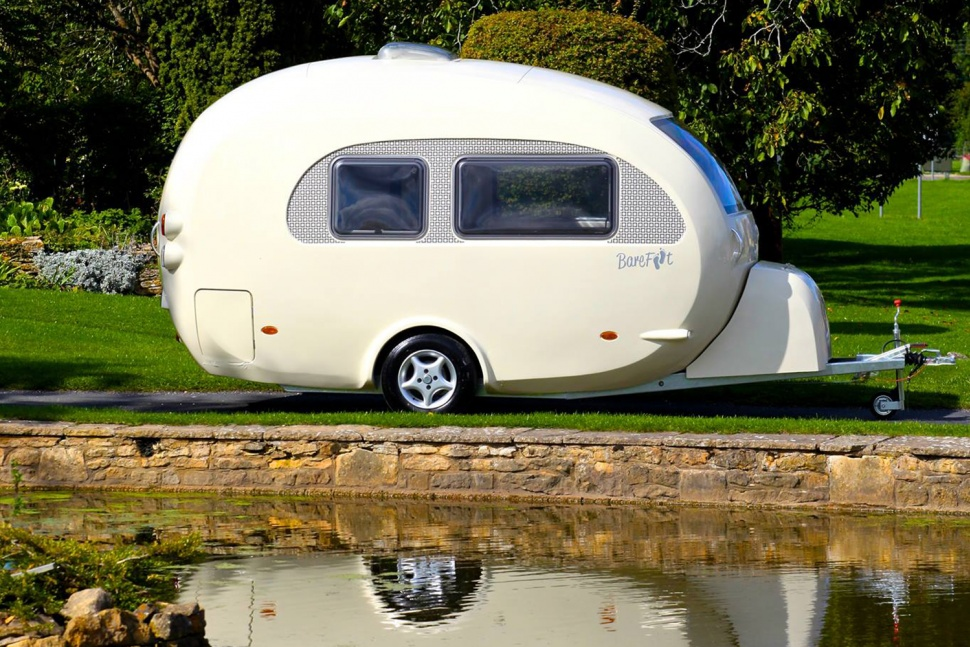 New Egg Shaped Travel Trailers